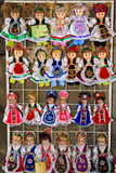 Funny dolls Royalty Free Stock Photography