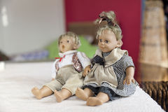Funny dolls Stock Photography