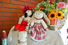 Funny dolls Royalty Free Stock Image