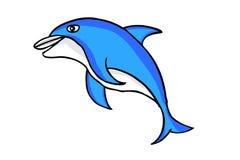 Funny dolphin Royalty Free Stock Photos