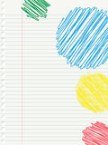 Funny doodle Stock Photos