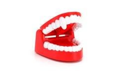 Funny Dracula teeth toy. Royalty Free Stock Photos