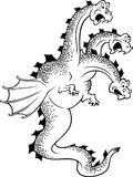 Funny dragon Stock Photography