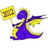 Funny dragon Stock Photos