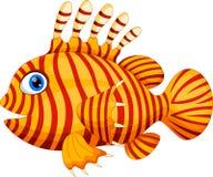 Funny dragonfish cartoon Royalty Free Stock Photography