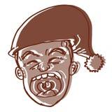Funny dream cartoon Royalty Free Stock Photo