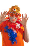 Funny Dutch supporter Royalty Free Stock Photo