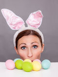 Funny easter Royalty Free Stock Photo