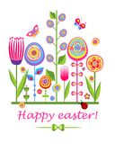 Funny easter card Royalty Free Stock Photo