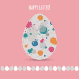 Funny Easter card Royalty Free Stock Photos