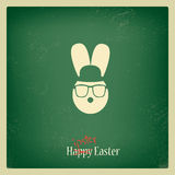 Funny Easter Card Stock Photography