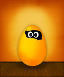 Funny easter egg Royalty Free Stock Image