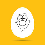 Funny easter egg Stock Photography