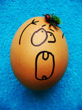 Funny Easter Egg Royalty Free Stock Images
