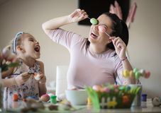 Funny Easter royalty free stock images
