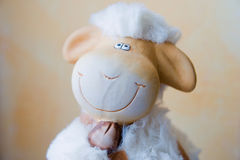 Funny Easter lamb Stock Images