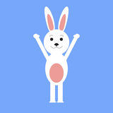 Funny easter rabbit Royalty Free Stock Image