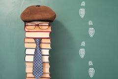 Funny education concept Royalty Free Stock Image