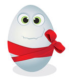Funny egg Stock Images