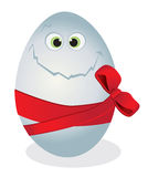 Funny egg Stock Photography