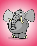 Funny elephant Stock Photo