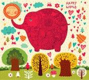 Funny elephant Stock Photography