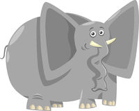 Funny elephants cartoon illustration Royalty Free Stock Photo