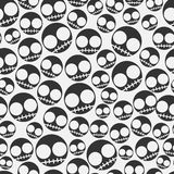 Emo seamless pattern Stock Photo