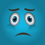 Funny emoticon cartoon design Stock Photo