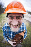 Funny Engineer Stock Photography