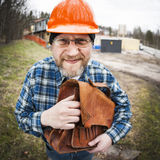 Funny Engineer Stock Image