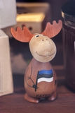 Funny Estonian Elk - souvenir... Stock Photography