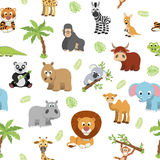Funny exotic animals Stock Image