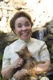 Funny Expression Grandma Royalty Free Stock Photo