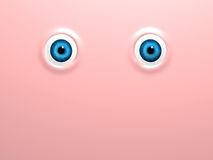 Funny eyes Royalty Free Stock Photos
