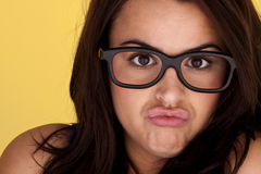 Funny face. Royalty Free Stock Photography