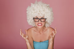 Funny face. Royalty Free Stock Images