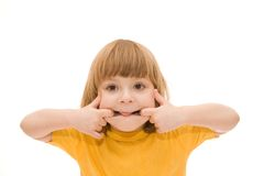 Funny face Stock Image
