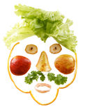 Funny face Stock Images