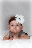 Funny face baby Stock Photos