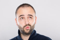 Funny face Stock Photography