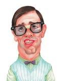 Funny Face Caricature Stock Photos