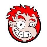 Funny face design Stock Photo