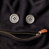Funny face with zipper Stock Image