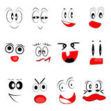 Funny Faces Royalty Free Stock Images