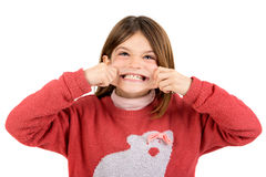 Funny faces Royalty Free Stock Image