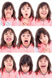 Funny faces Royalty Free Stock Photos