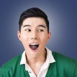 Funny facial expression Stock Photos