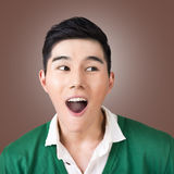 Funny facial expression Royalty Free Stock Photos