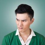 Funny facial expression Stock Photo